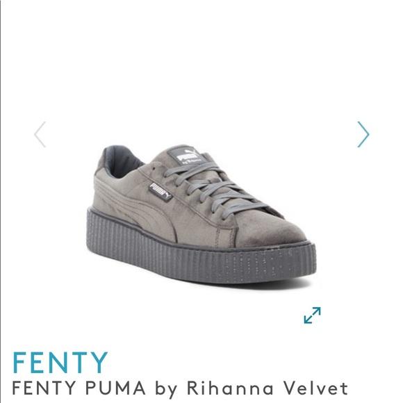 cheaper af993 248e9 Fenty x Puma Velvet Creeper shoe
